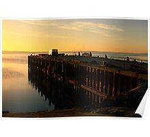 Sunset at Whitemark Poster