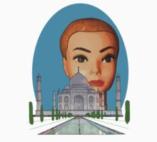 head of the taj mahal by IanByfordArt