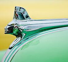 1951 Pontiac Streamliner Hood Ornament 2 by Jill Reger