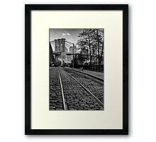 Abandon Railway Dumbo Framed Print
