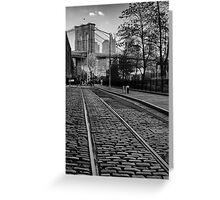Abandon Railway Dumbo Greeting Card