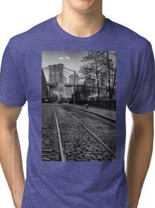 Abandon Railway Dumbo Tri-blend T-Shirt