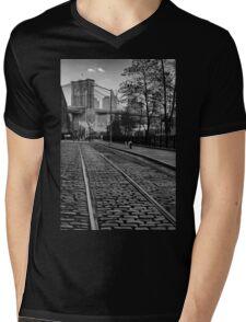 Abandon Railway Dumbo Mens V-Neck T-Shirt