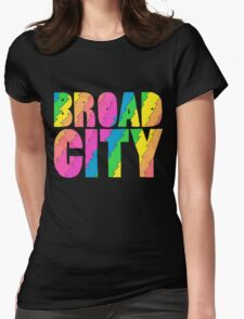 Broad City TV Series Logo Womens Fitted T-Shirt