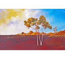 Red Centre Dawn Photographic Print