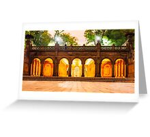 Bethesda Terrace Greeting Card