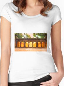 Bethesda Terrace Women's Fitted Scoop T-Shirt