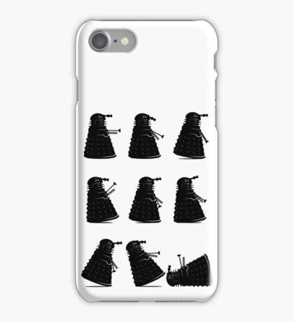 Ministry of Dalek Silly Walks iPhone Case/Skin