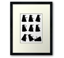 Ministry of Dalek Silly Walks Framed Print