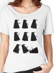 Ministry of Dalek Silly Walks Women's Relaxed Fit T-Shirt