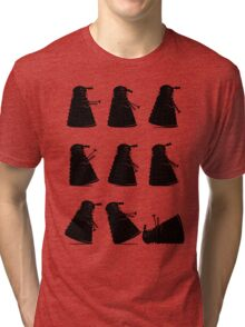 Ministry of Dalek Silly Walks Tri-blend T-Shirt