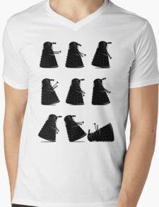 Ministry of Dalek Silly Walks Mens V-Neck T-Shirt