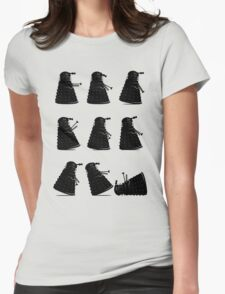 Ministry of Dalek Silly Walks Womens Fitted T-Shirt