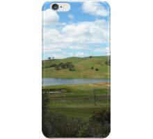 Blayney Wind Farm Landscape iPhone Case/Skin