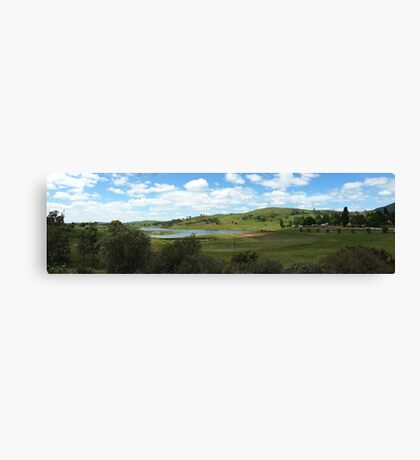 Blayney Wind Farm Landscape Canvas Print
