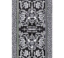 Italian Playing Cards back iPhone case by mrmini