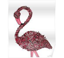 Flamingo Watercolor Poster