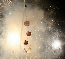 30,000 firecrackers  by ZWC Photography