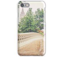 Rainy On Bow Bridge iPhone Case/Skin