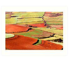 Dongchuan 2 Art Print