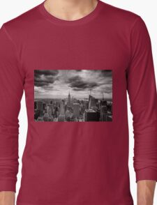 Stormy Sunset Long Sleeve T-Shirt