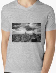 Stormy Sunset Mens V-Neck T-Shirt