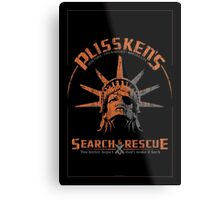 Snake Plissken's Search & Rescue Pty Ltd Metal Print