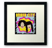 Broad City TV Series Logo 2 Framed Print
