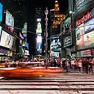 Times Square  by Randy  LeMoine