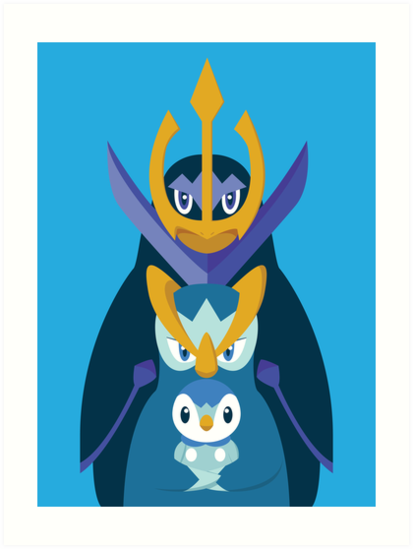 Awkward Penguin Portrait by gallantdesigns