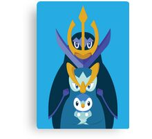 Awkward Penguin Portrait Canvas Print
