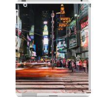 Times Square  iPad Case/Skin