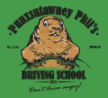 Punxsutawney Phil's Driving School Kids Clothes