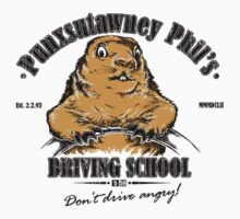Punxsutawney Phil's Driving School One Piece - Long Sleeve