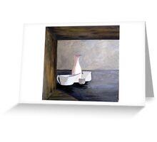 White Jug Greeting Card