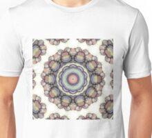 abstract flowers kaleidoscope mandala Unisex T-Shirt