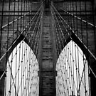 Brooklyn Bridge Profile by Randy  LeMoine