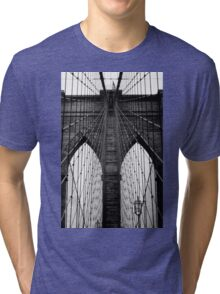 Brooklyn Bridge Profile Tri-blend T-Shirt