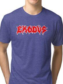 Exodus band Tri-blend T-Shirt