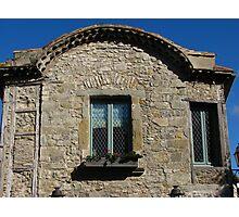 Carcassonne Facade Photographic Print