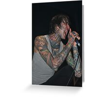 Mich Lucker, Suicide Silence Greeting Card