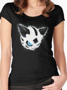 Glalie Splatter Women's Fitted Scoop T-Shirt
