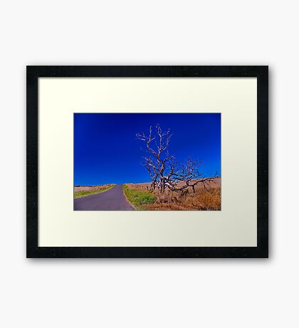 """""""Blue Skies from Here On"""" Framed Print"""