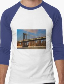 Manhattan Bridge Men's Baseball ¾ T-Shirt