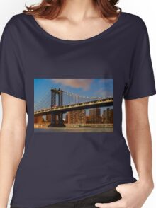 Manhattan Bridge Women's Relaxed Fit T-Shirt