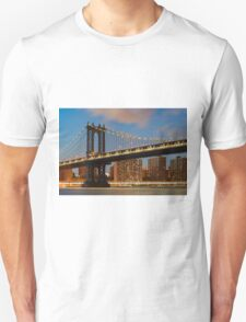 Manhattan Bridge Unisex T-Shirt