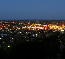 Mount Gambier At Night by Ginter