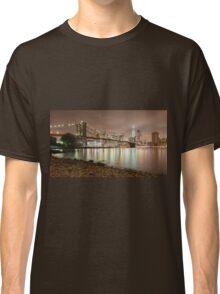 Brooklyn Bridge at Dusk Classic T-Shirt