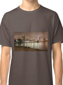 Brooklyn Bridge at Dusk Classic T-Shirt