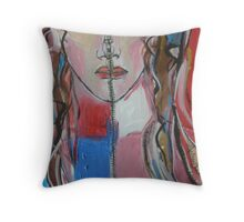 Unzipped Throw Pillow